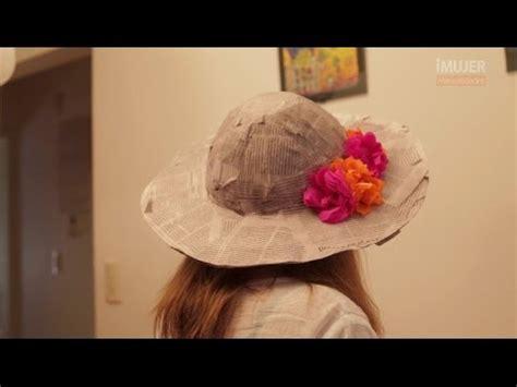 como hacer un sombrero de mariachi para nios sombrero de papel mach 233 c 243 mo hacer un sombrero