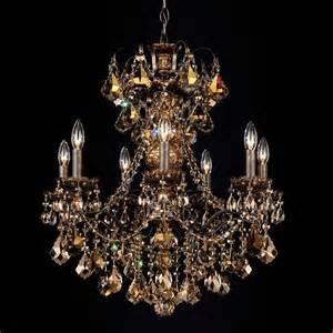 chandeliers schonbek schonbek new orleans 7 light chandelier shown in heirloom