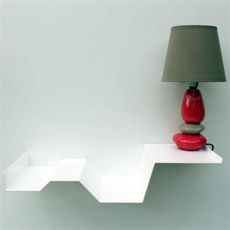 chevet suspendu blanc m 233 tal chevet mural design table de