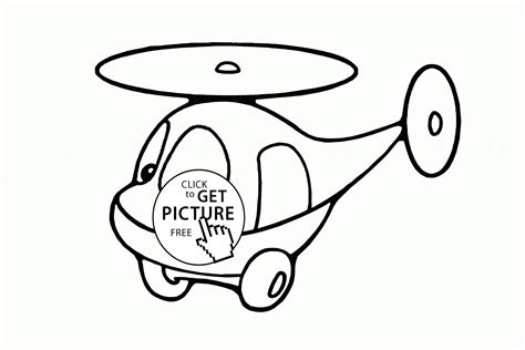 preschool helicopter coloring page simple cute helicopter coloring page for preschoolers