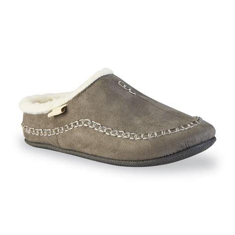 indoor outdoor mens slippers kamik s hemlock indoor outdoor slipper gray shop