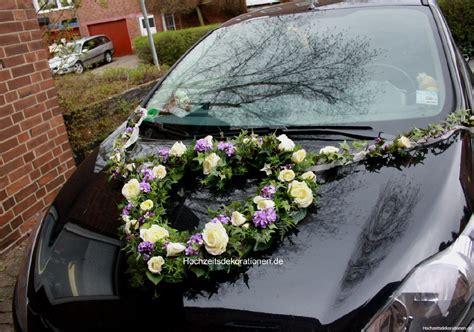 Auto Herz by Autoherz Wuschig Blumenmeer Hochzeitsdekorationen