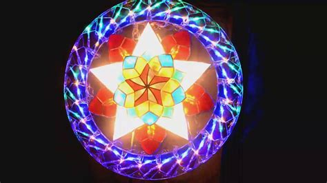 parol or christmas lantern starlight with chasing lights