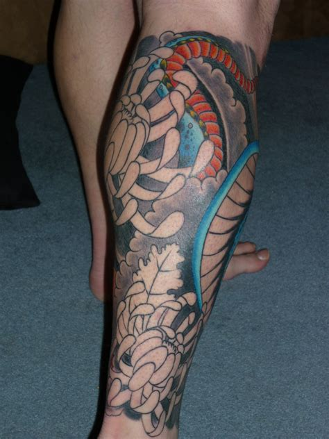 female leg tattoos designs up leg sleeve inspiration for tattoomagz