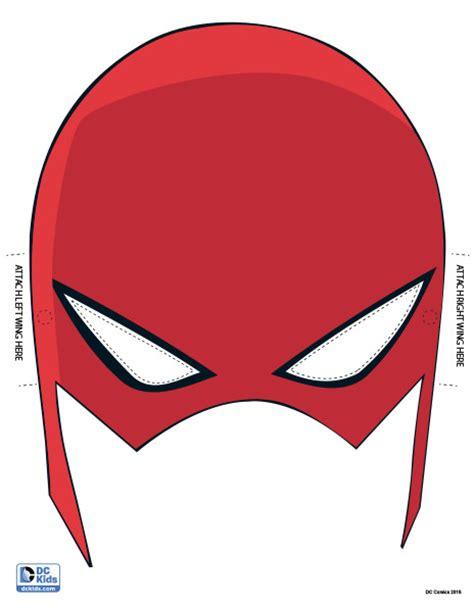printable flash mask template flash mask