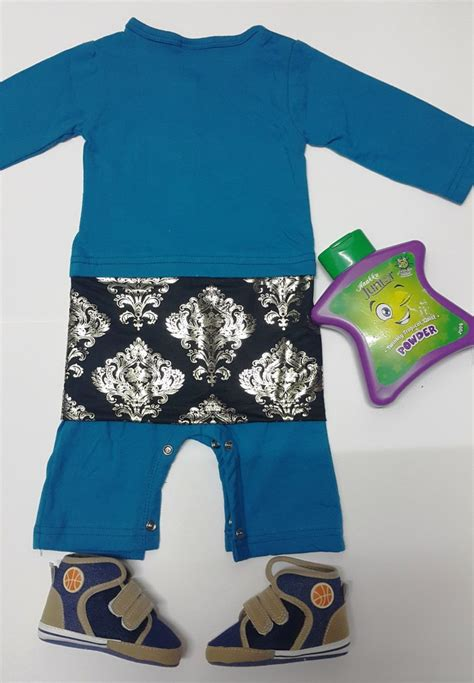 Best Gift Set Baju Natal Jumper jumper baju melayu sing songket baby romper raya sky blue 11street malaysia baju melayu