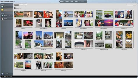 organize media amazon com corel paintshop photo express