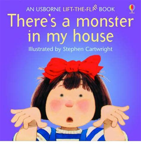 monster in my house there s a monster in my house jenny tyler 9780746028162