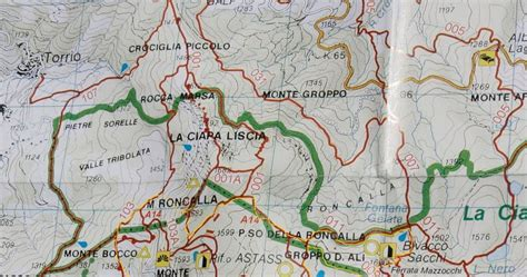 itinerario anello delle citt 224 montagnatore anello delle ferrate e mazzocchi fra