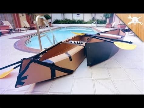 How To Make A Big Boat Out Of Paper - building 20 cardboard boats