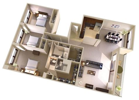 apartments with 3 bedrooms and 2 bathrooms amazing 3 2 bath apartments with efficiency executive
