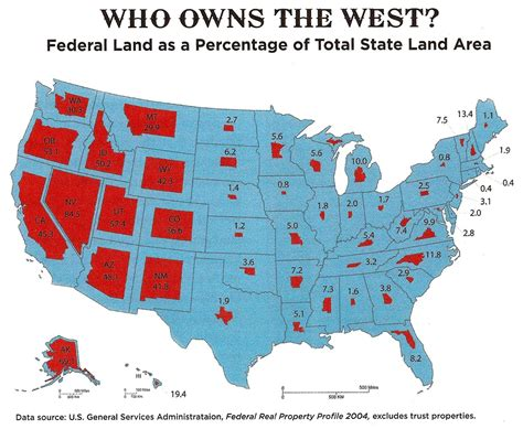 map of federally owned land in usa just how much land does the federal government own and