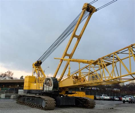 Tracked Crane kobelco ck2500 tracked cranes year of manufacture 2004