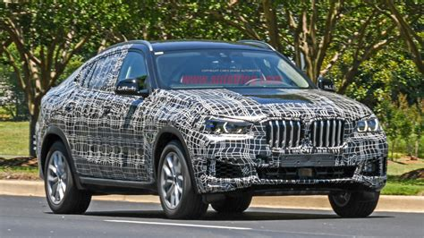 Bmw X6 2020 by 2020 Bmw X6 Spied With Minimal Camouflage Autoblog