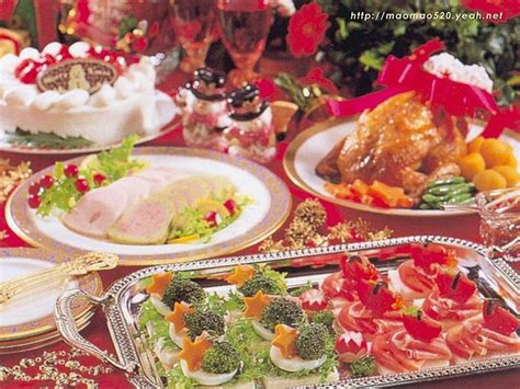 Wallpaper of Christmas Foods & Christmas dinner 69