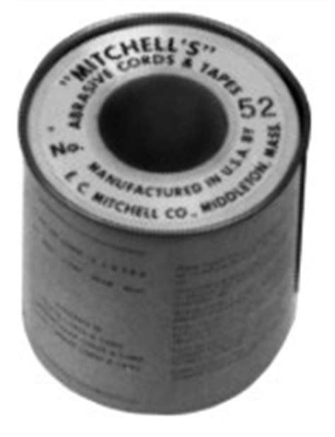 Las Roll Grit 60 Per Meter emery cord 082 quot 2 08mm diameter 120 grit