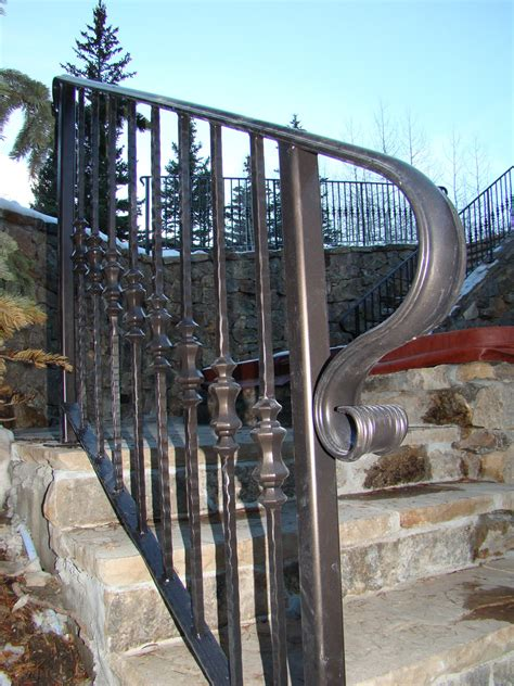 wrought iron hand railing love  simple   ft handrail step stair railings interior