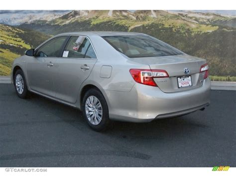 Toyota Camry Creme Brulee 2014 Creme Brulee Metallic Toyota Camry Hybrid Le