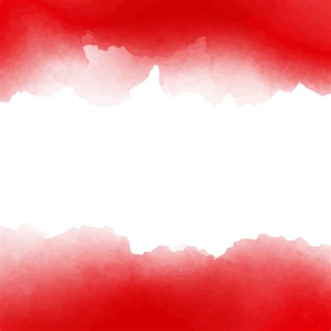 Paint Design by Red And White Watercolor Background Design Vector Free