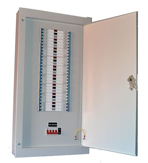 Sisir Mcb 3 Phase powertec 12 way 100a three phase tpn distribution board c