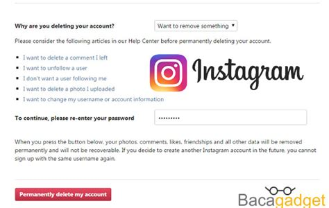 cara membuat akun instagram dari windows phone cara menghapus akun instagram dengan mudah terbaru