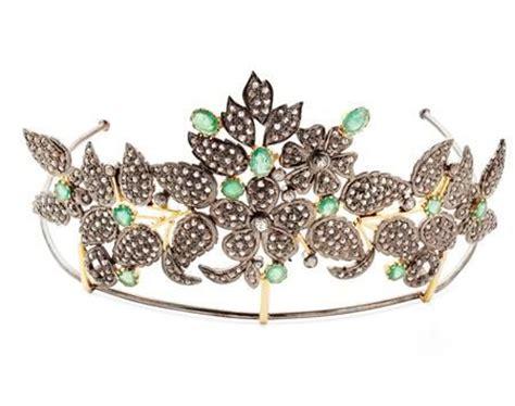Set Tiara Cc 1000 images about tiaras emeralds on iran
