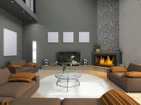 Modern stone fireplace designs
