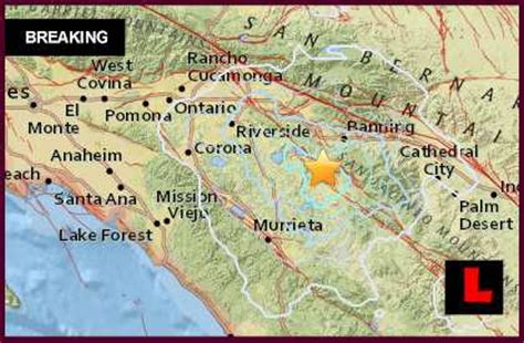 earthquake near me today los angeles earthquake 2015 today strikes near palm springs