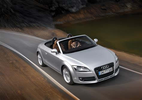 audi tt roadster pictures history  research