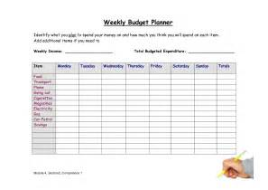 Weekly Budget Templates by Best Photos Of Simple Weekly Budget Weekly Budget