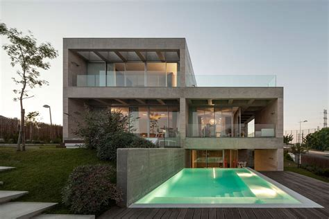 a beach house in portugal goes modern design milk c p house in lisbon portugal by gon 231 alo das neves nunes