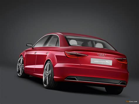 Audi A3 Sedan 2011 by Audi A3 Sedan Concept 2011 Pictures 1280x960