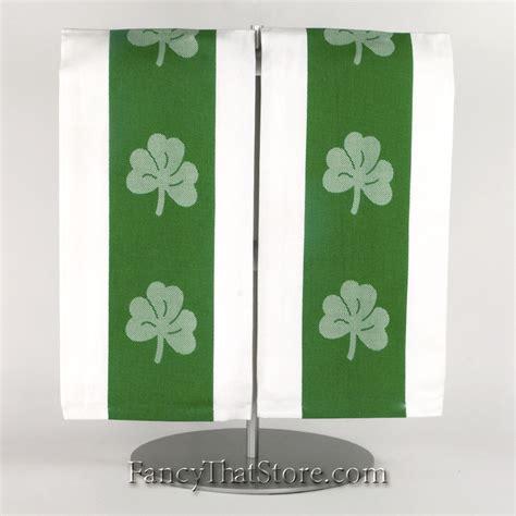 Green Kitchen Towel Set by Green Shamrock Kitchen Towel Set Of 2