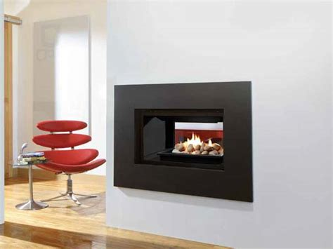 Dual Sided Gas Fireplace by Sided Fireplaces Toronto Hearth Store