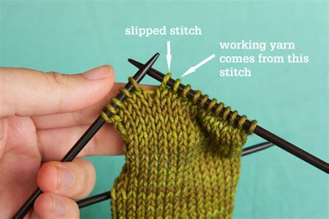 how to knit ssk how to work a ssk slip slip knit decrease tin can knits