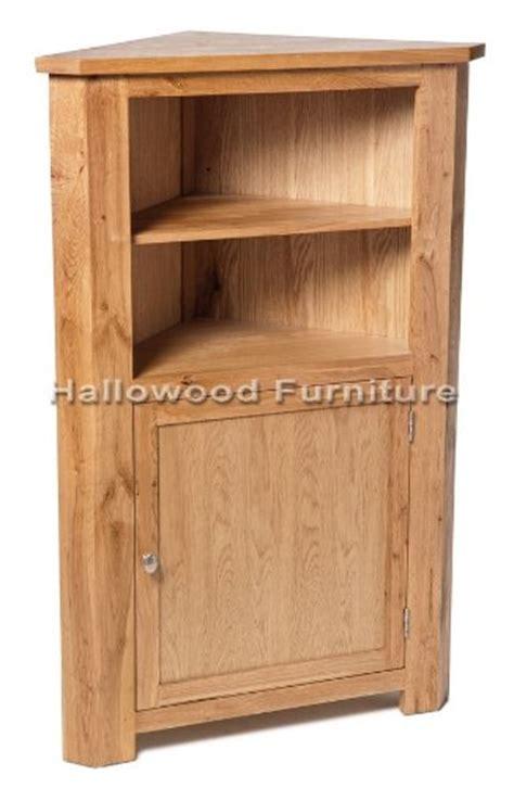 Solid Oak Corner Shelf by Oak Furniture New Solid Oak Medium Corner Display