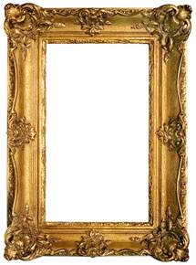 Free Photo Frame Template by Doodlecraft Vintage Gold Gilded Frames Free Printables