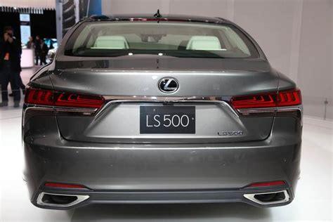 Ls Expo La by 2018 Lexus Ls Detroit Auto Show Autotrader