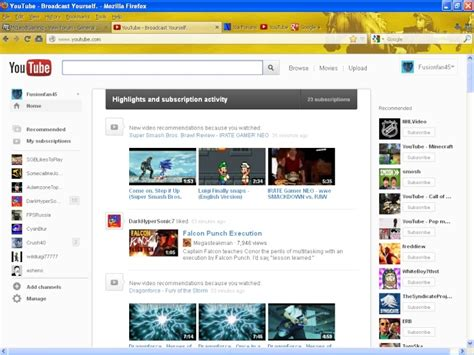 youtube layout is messed up mcleodgaming view topic youtube homepage messed up