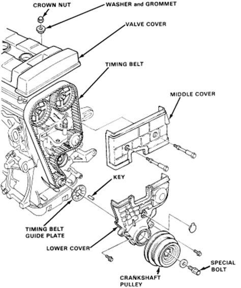 honda accord vtec dohc engine diagram get free image
