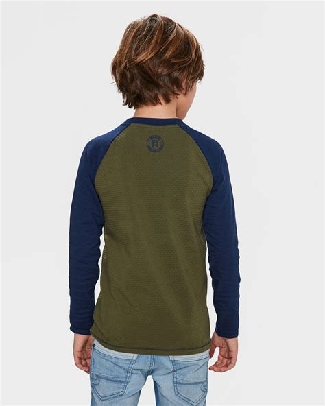 Print Raglan Sleeve T Shirt jongens print raglan sleeve t shirt 82008093 we fashion