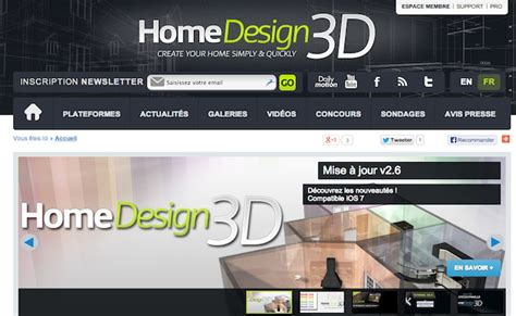 Home Design Architecture App by Bon App Home Design 3d Application D Architecture Et