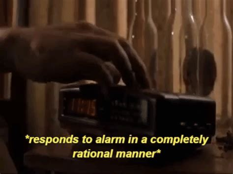 groundhog day alarm clock gif alarm clock gifs find on giphy