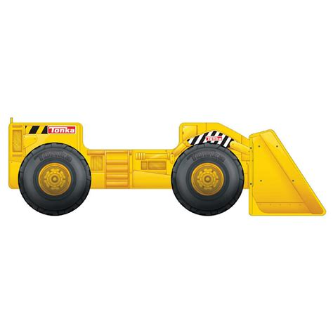 tonka truck toddler bed with storage shelf ebay