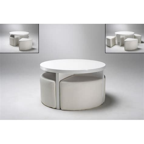 Click To Enlarge Round White Coffee Table Glass Top Exhitz White Coffee Table Glass Top