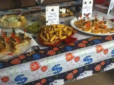 theme buffet names my food buffet at my hubby s casino party the gambler