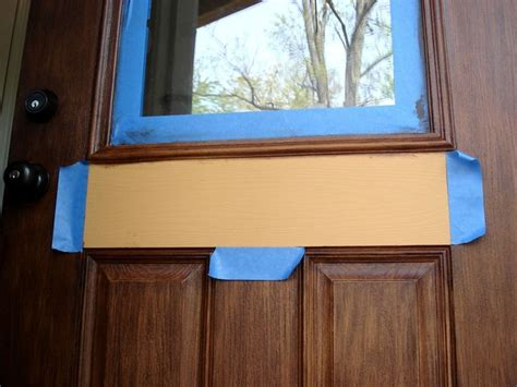 How To Stain Fiberglass Door by How To Gel Stain A Fiberglass Door For The Home