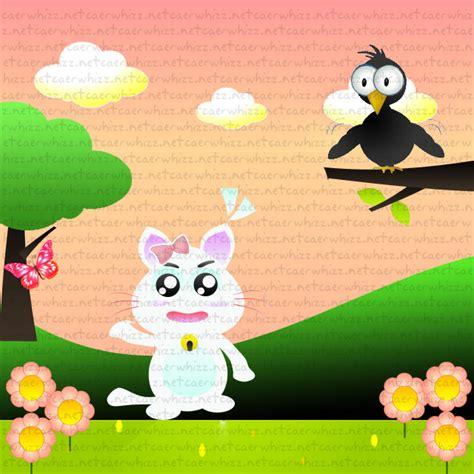 doodle nama nada teladan si putih dan si burung gagak caerwhizz net