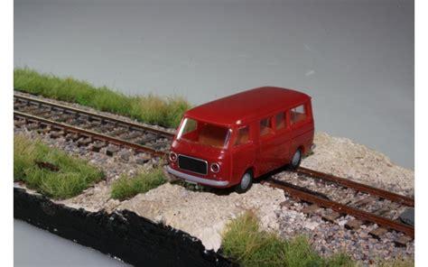 sedere rosso brekina fiat 238 con posti a sedere rosso arte treno