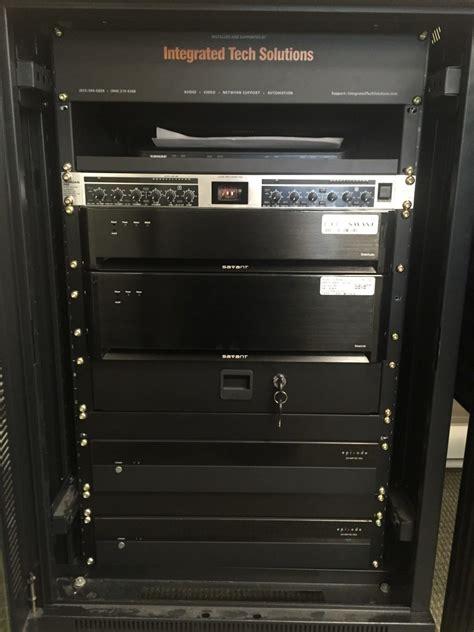equipment racks gallery integrated tech solutions